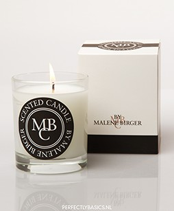 By Malene Birger Scented Candle Milk & Honey