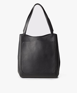 Filippa K Shelby Bucket Leather Bag - Black
