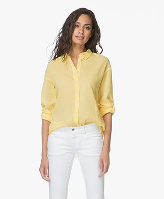 Closed Joan Cotton Blouse - Mellow Yellow