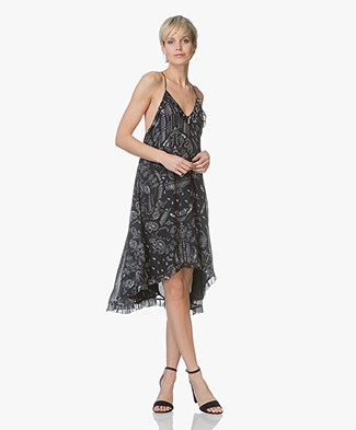 IRO Bagda Ruffle Dress - Black