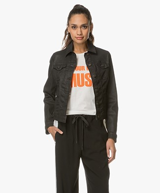 BOSS Orange J90 Pittsburg Denim Jacket - Black