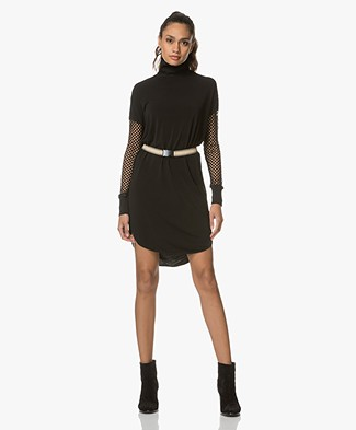 By Malene Birger Avisca Lattice Dress - Black