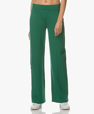 FWSS Marte Wide Sweatpants - Evergreen