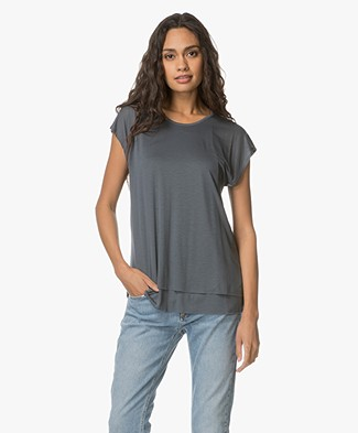 Filippa K Double Layer Cap Sleeve - Railings