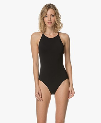 Filippa K Tie-back Swimsuit - Zwart