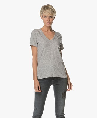 Rag & Bone / Jean The Vee T-shirt - Heather Grey