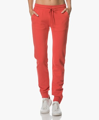 Anine Bing Nantucket Track Sweatpants - Red