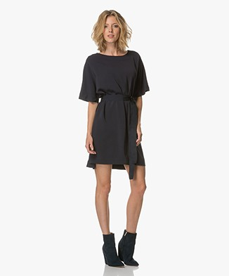 BY-BAR Pien Dress with Dolman Sleeves - Dark Navy