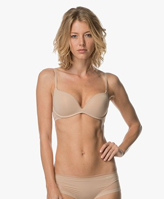 Calvin Klein Sculpted Push-Up Bra - Bare