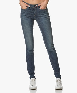 Denham Skinny Fit Jeans Sharp - Fresh Blue Stretch