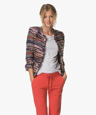 IRO Namanta Tweed Blazer - Multi-color