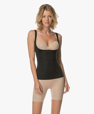 SPANX® Conceal-Her! Open-Bust Cami - Very Black