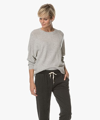 Drykorn Damia Knitted Pullover - Light Grey