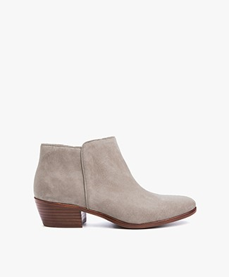 Sam Edelman Petty Suede Ankle Bootie- Putty