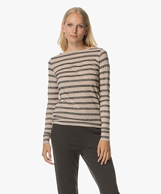 BY-BAR Basic Glam Long Sleeve- Sand