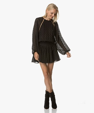 Magali Pascal Sophia Mini Dress - Black