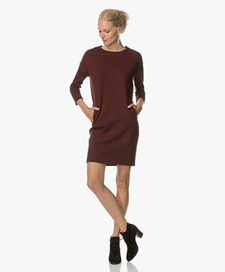 BY-BAR New Tess Sweater Dress - Wine