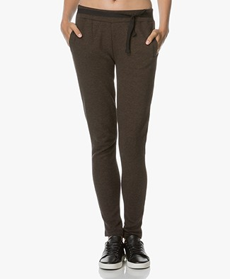 BY-BAR Jette Sweatpants - Dark Brown