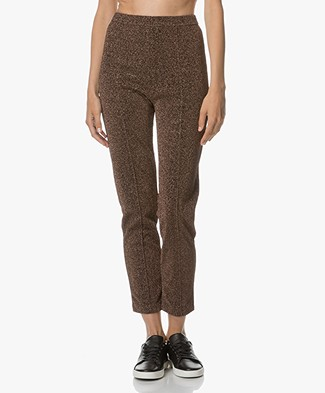 By Malene Birger Ivannoz Lurex Pants - Copper