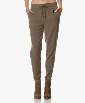 Drykorn Level Loose-Fit Pants - Taupe