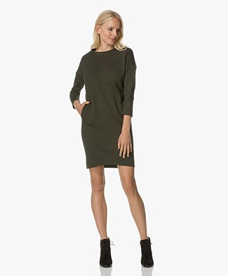 BY-BAR New Tess Sweater Dress - Olive