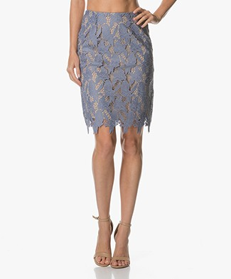 FWSS Anna Lace Pencil Skirt - English Manor