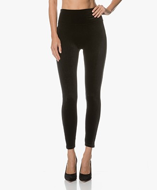 SPANX® Structured Velvet Legging - Very Black