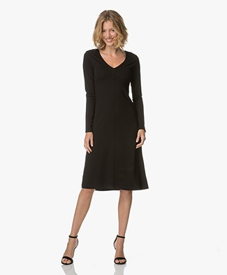 Filippa K V-Neck Dress - Black