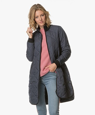 Ilse Jacobsen Padded Quilt Coat - India Ink