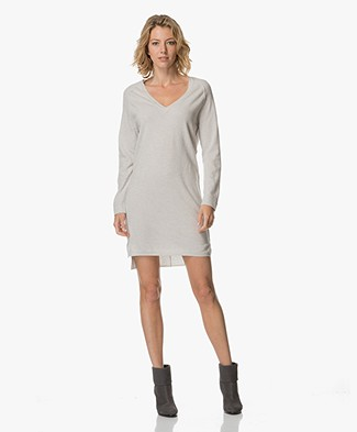 Josephine & Co Arko V-neck Dress - Silver Grey
