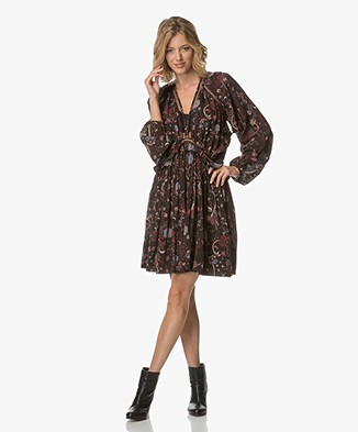 Magali Pascal Drew Mini Dress - Black Phoenix