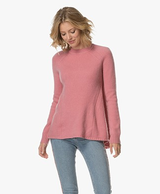 Sportmax Fasto Cashmere A-line Sweater - Pink
