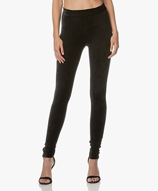 Theory Adbelle Velvet Leggings - Black