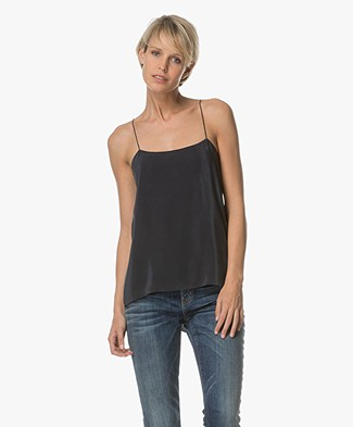 Theory Vanissa Silk Top - Concord
