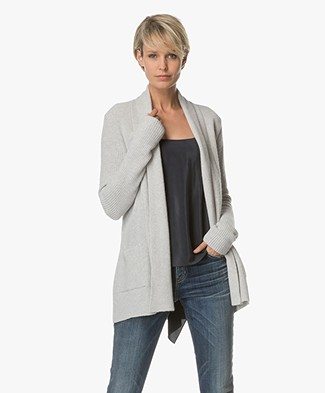Belluna Brooks Open Vest - Light Ash