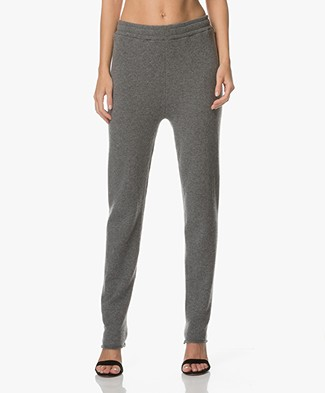 extreme cashmere Speed Knit Pants - New Grey