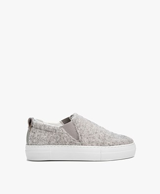 Filippa K Brooke Wooly Slip On - Grijs Mêlee