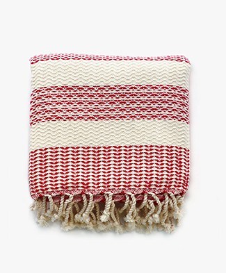 Bon Bini Towel Sorobon - Red