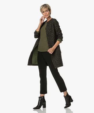 Josephine & Co Ashley Ausbrenner Blazer Cardigan - Print Army