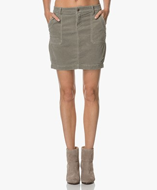 Josephine & Co Aaron Corduroy Mini Skirt - Army Green
