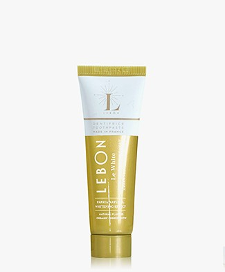 Lebon Le White Toothpaste 25ml - Sweet Mint/Green Tea