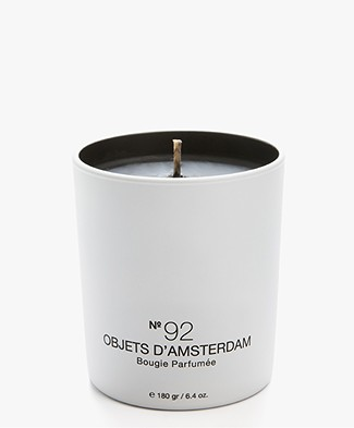 Marie-Stella-Maris Eco Scented Candle - No.92 Objets d'Amsterdam