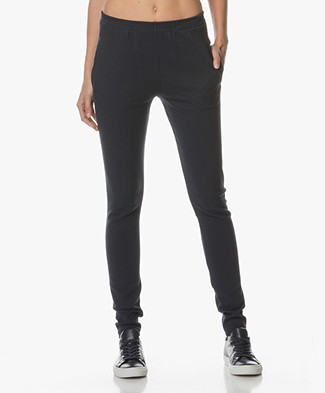 BY-BAR Mon Stretchy Rib Pants - Dark Navy