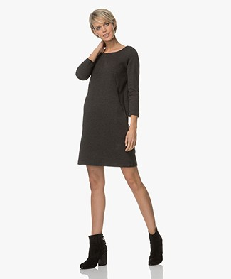 BY-BAR Zen Tweed Dress - Dark Grey