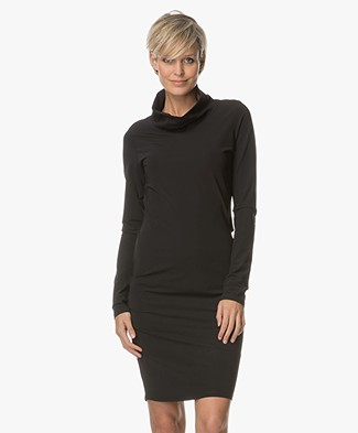 Woman by Earn Charly Turtleneck Dress - Black