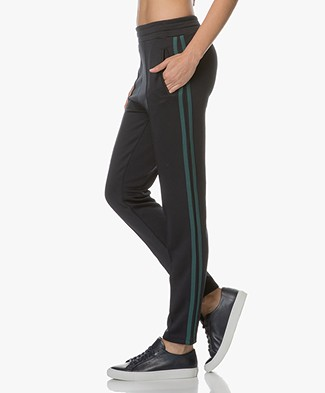 BY-BAR Funky Sweatpants - Donker Navy