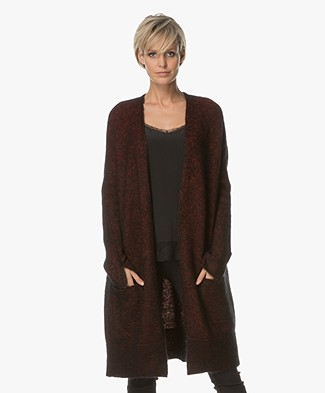 By Malene Birger Open Mohair Cardigan - Glamour