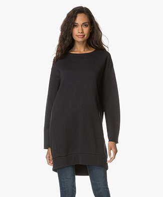 Filippa K Drapey Felpa Sweater - Night Sky