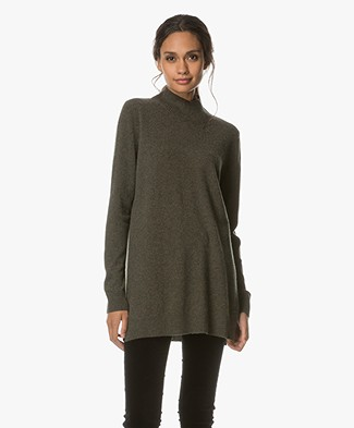 Repeat Wool and Cashmere Turtleneck - Forest