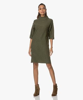 Josephine & Co Amala Knit Tunic Dress - Army Green